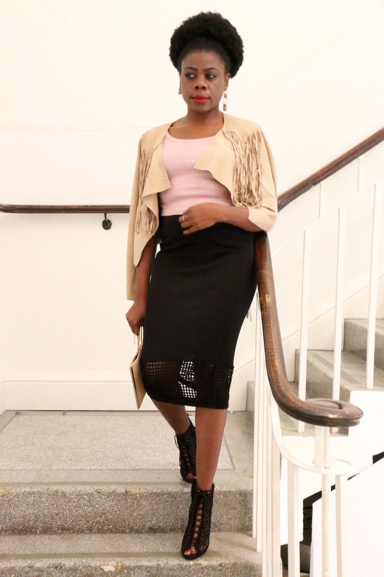 MAMMYPI,CAMEROONIAN FASHION BLOGGER,STREET STYLE,FRINGE,BLACK FASHION BLOGGERS