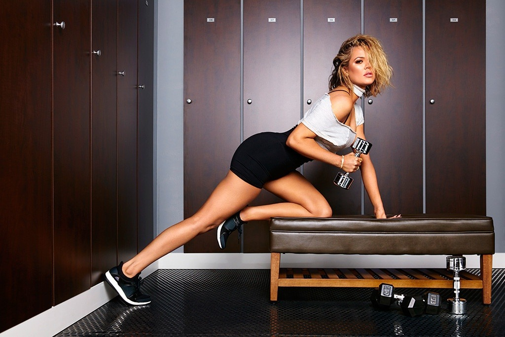 KHLOE KARDASHIAN,SHAPE MAGAZINE,FITNESS,EXERCISE
