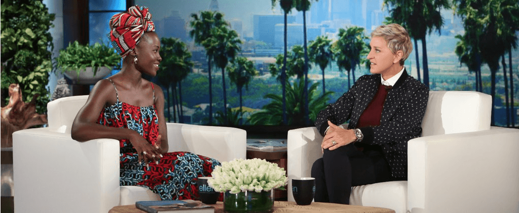 Ellen DeGeneres-Lupita in Kibonen NY