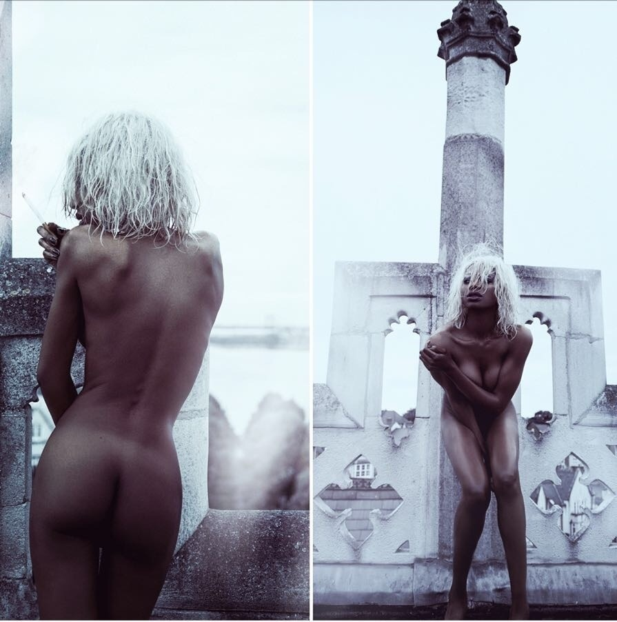 CAMEROONIAN NAKED apologise, but