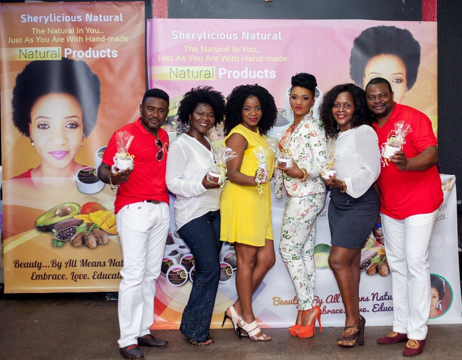 SHERYLICIOUS HAIRLINE PRODUCT LAUNCH