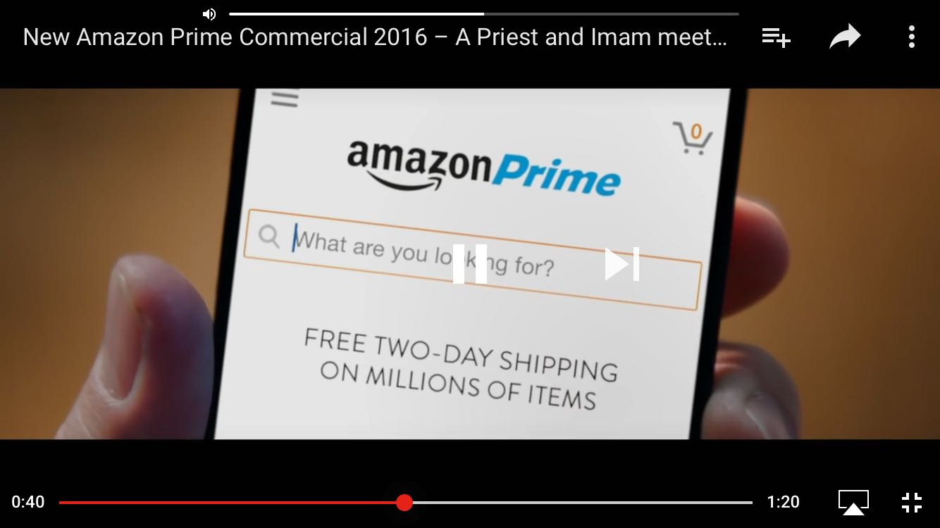 That Amazon Prime Advert And The Christmas Spirit