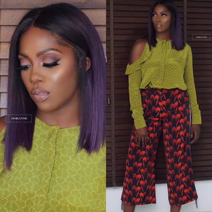TIWA SAVAGE STUNS IN NEW PICTURES ON FACEBOOK