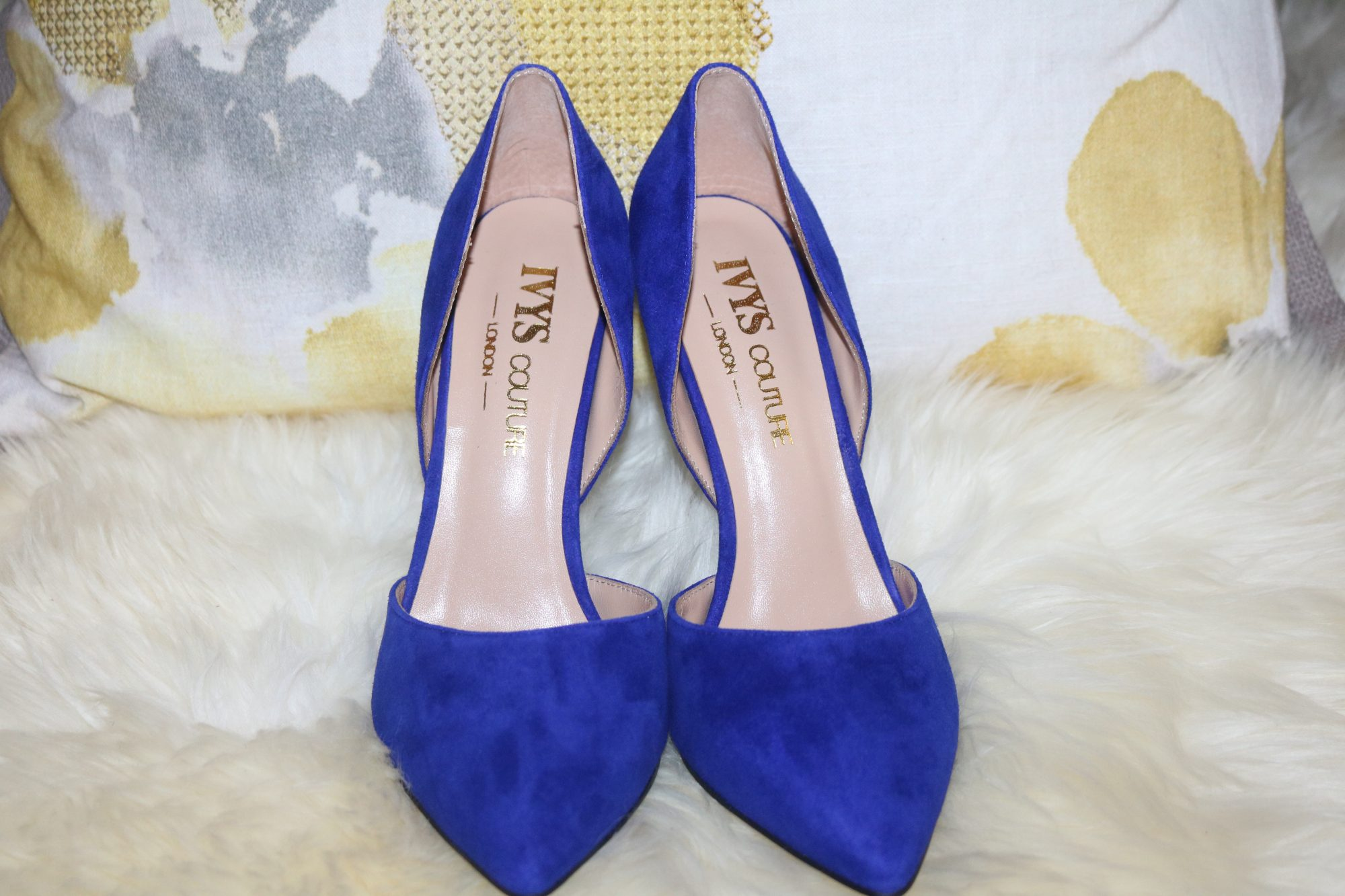ROYAL BLUE PUMPS BY IVYSCOUTRE LONDON