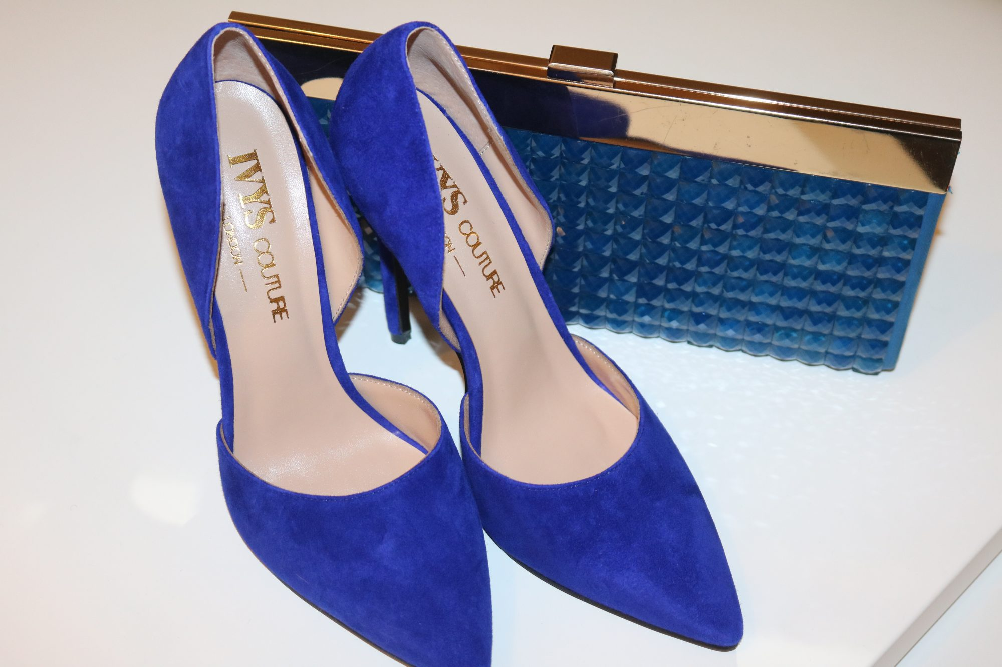 "GENUINE REVIEW OF THE ROYAL BLUE ""FOX"" PUMPS FROM IVYSCOUTURE"