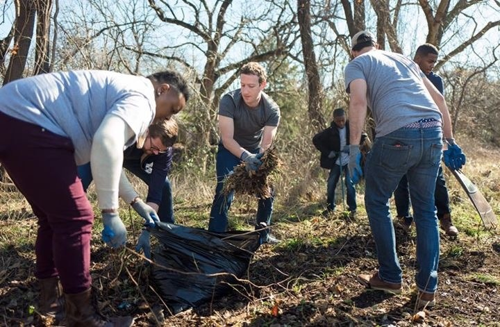 MARK ZUCKERBER JOINS OAK CLIFF COMMUNITY IN Day of Service honoring Martin Luther King Jr.
