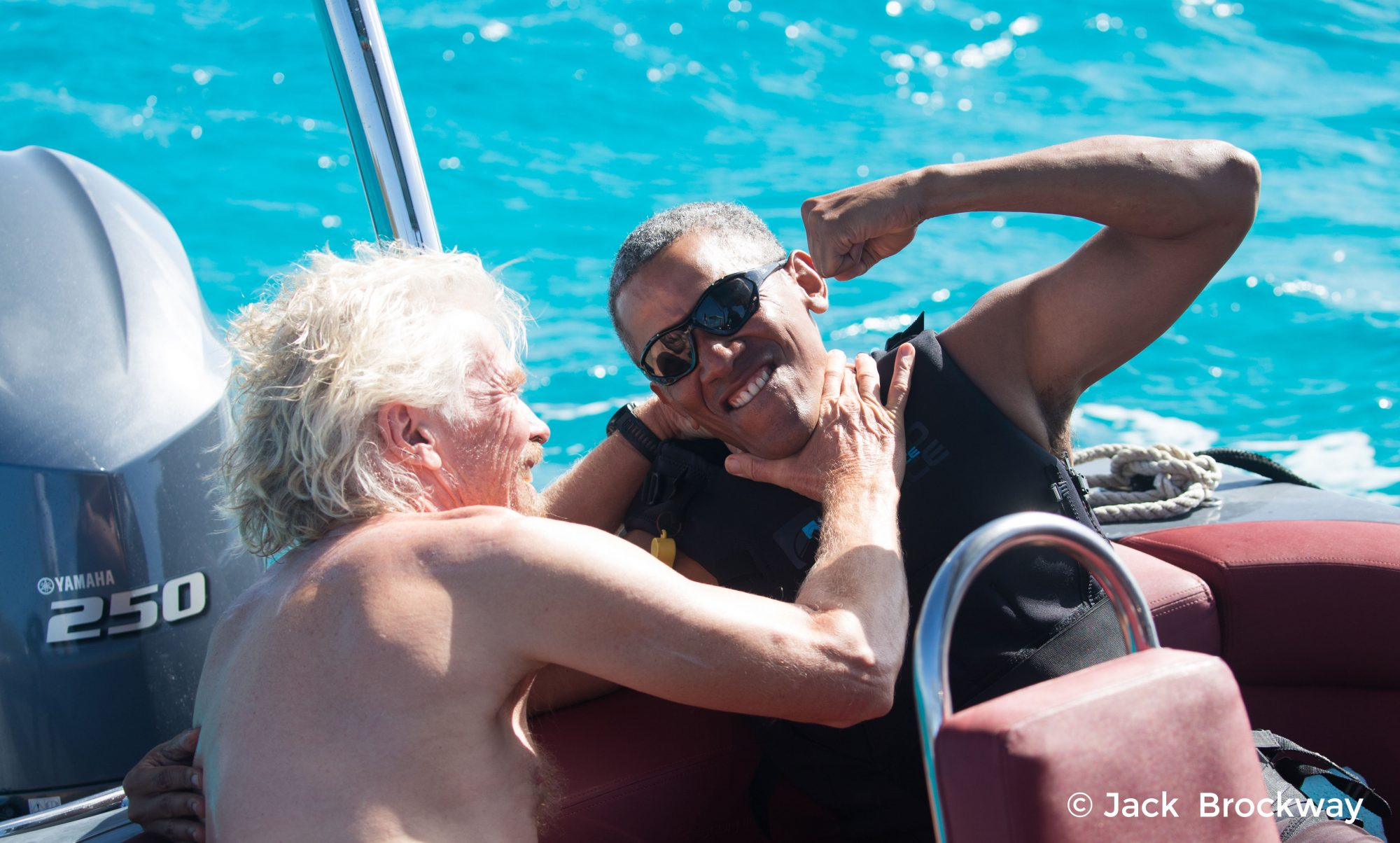Barack Obama and Richard Branson