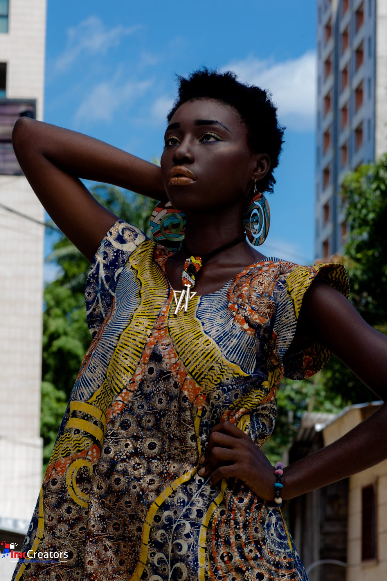 AMAZING CAMEROON SPRING PRINTS FASHION EDITORIAL CAPTURED BY INKCREATORS