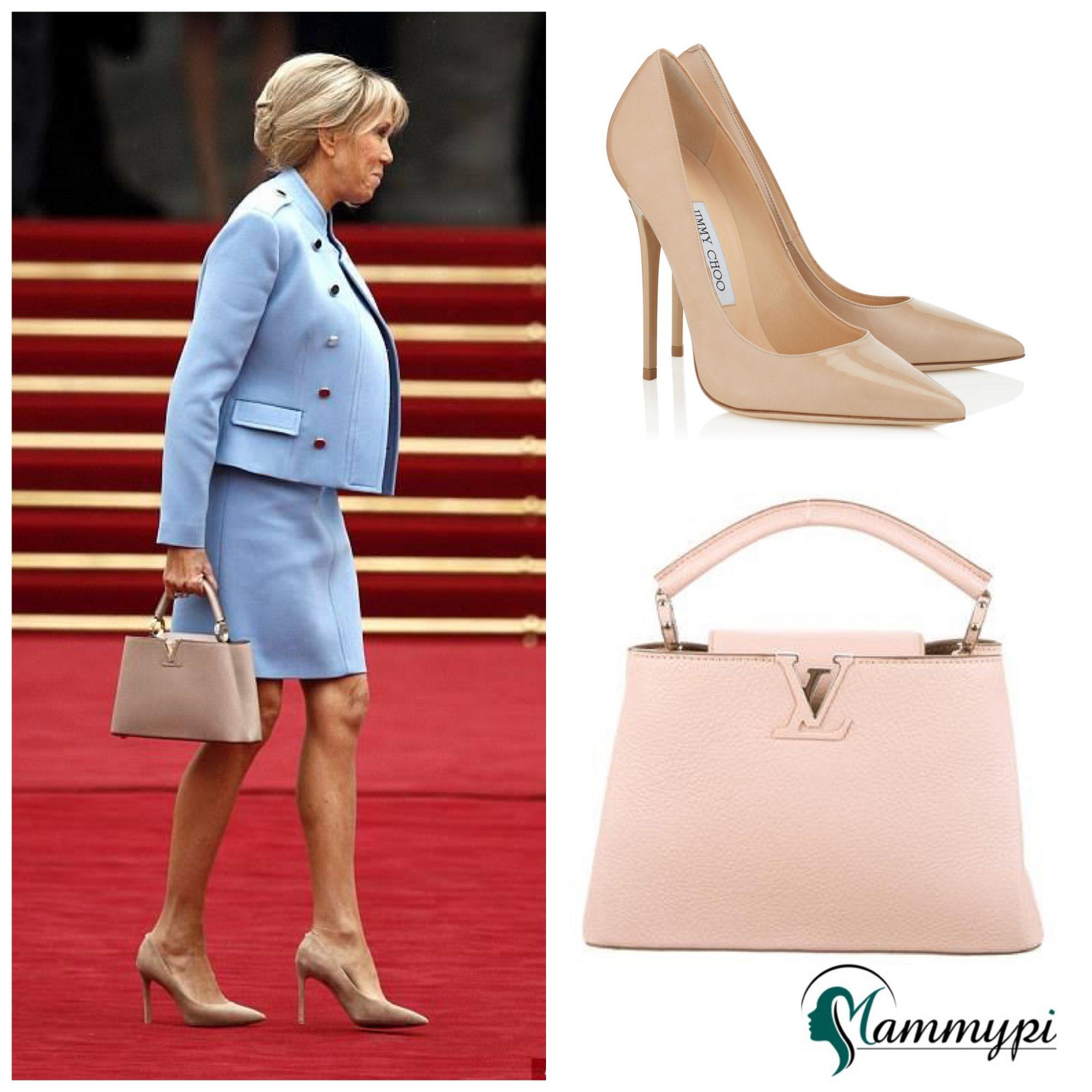 Brigitte Macron's Chic Style At Emmanuel Macron's Inauguration