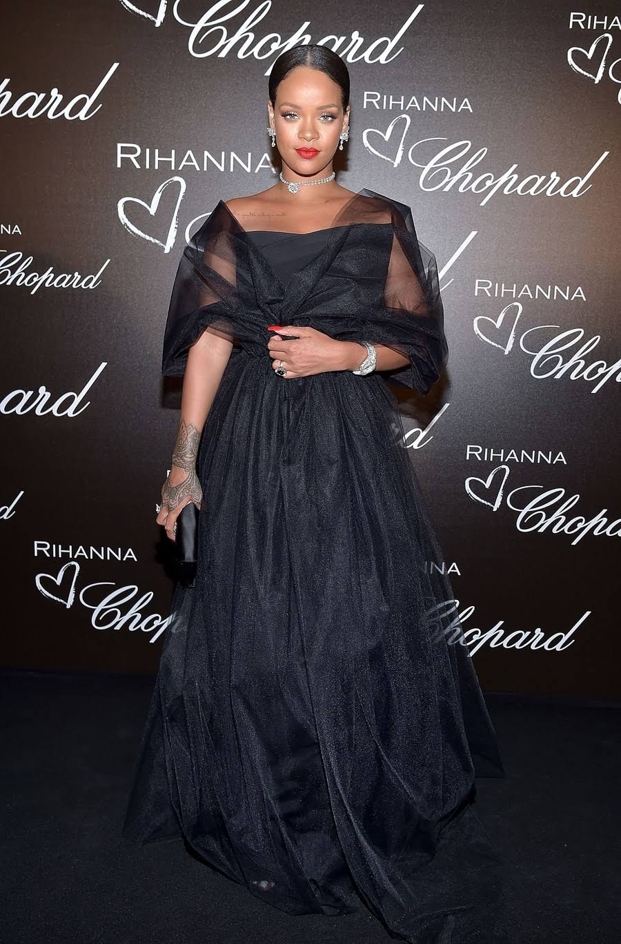 All The Red-Carpet Styles From The 70th Annual Cannes Film Festival With Rihanna In Chopard,Winnie Harlow,Robin Wright And Many More!!!