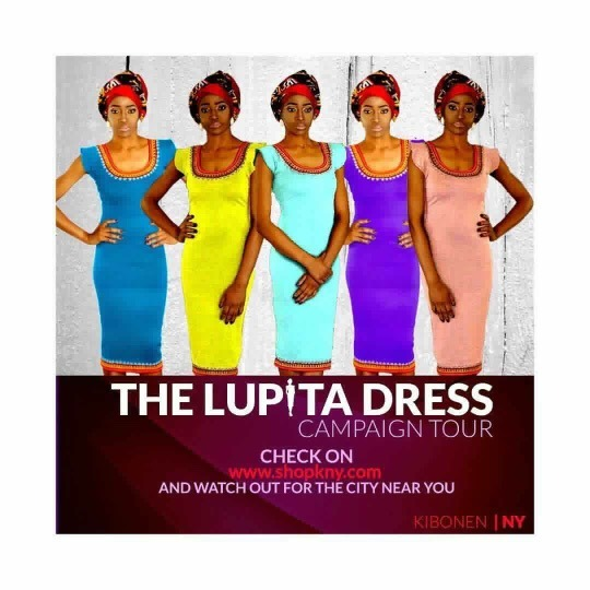Cameroon Fashion Designer Kibonen NY Takes 'Lupita Dress' On Tour