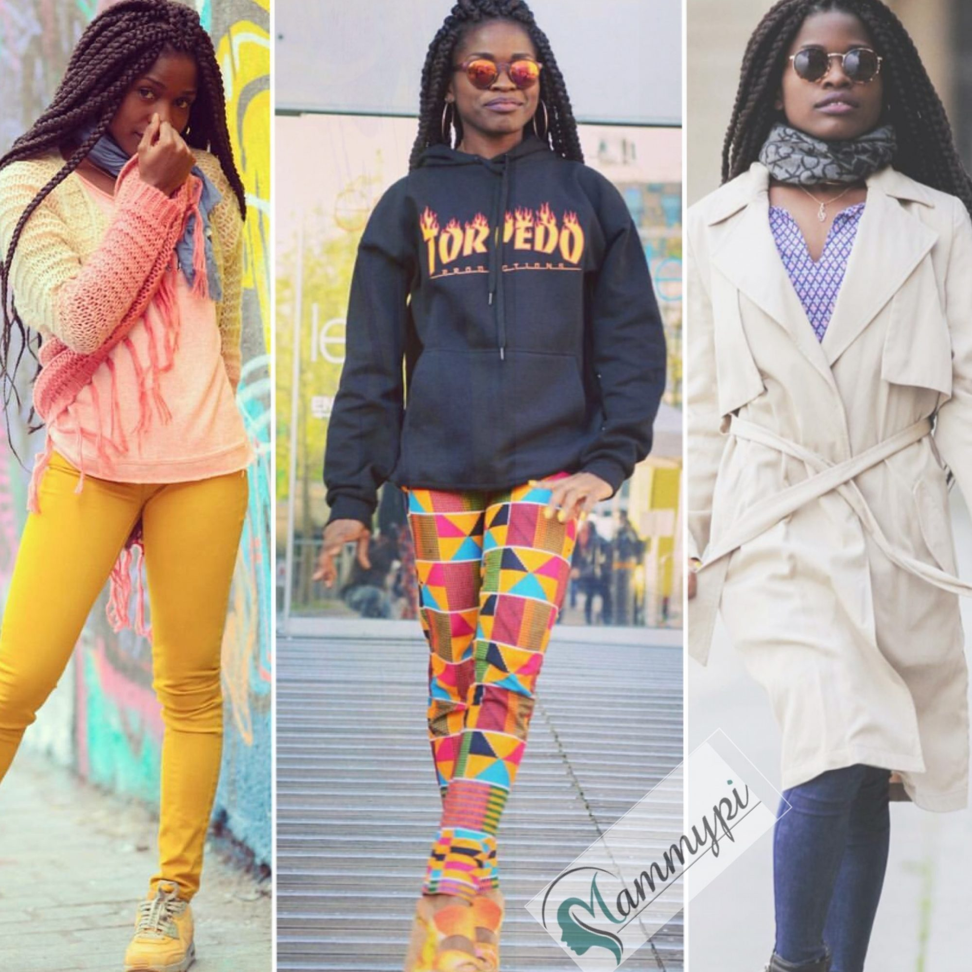 Cameroonian Artist Reniss Is Giving Us An Extremely Trendy Look Book To Feast On