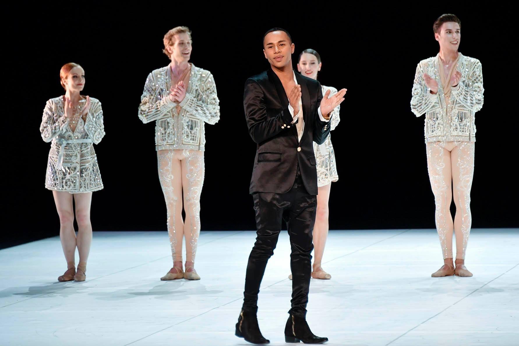 Balmain dresses Balmain and l'Opéra de Paris