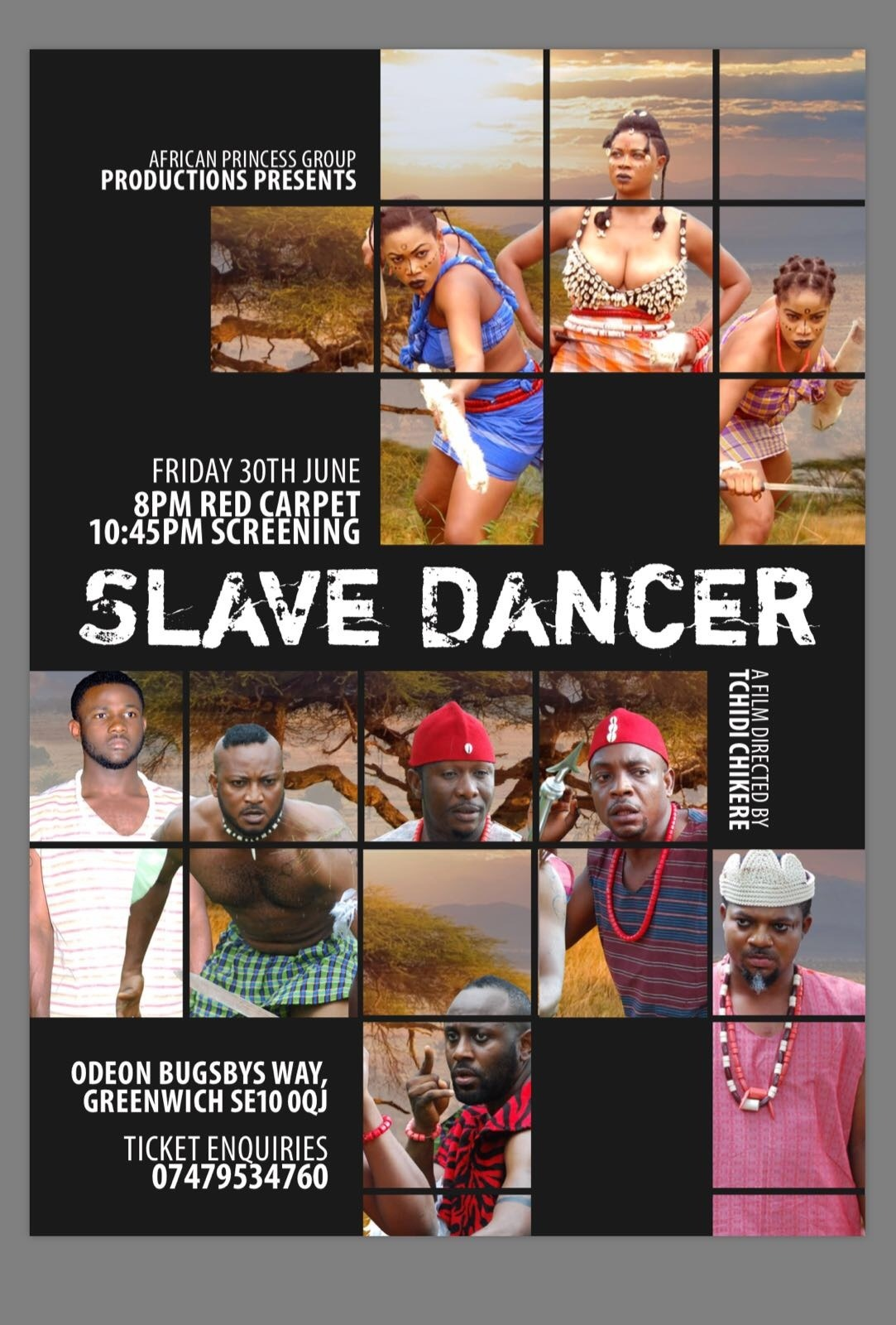 "Movie Premiere ""Slave Dancer"" a Story of Post War Survival"