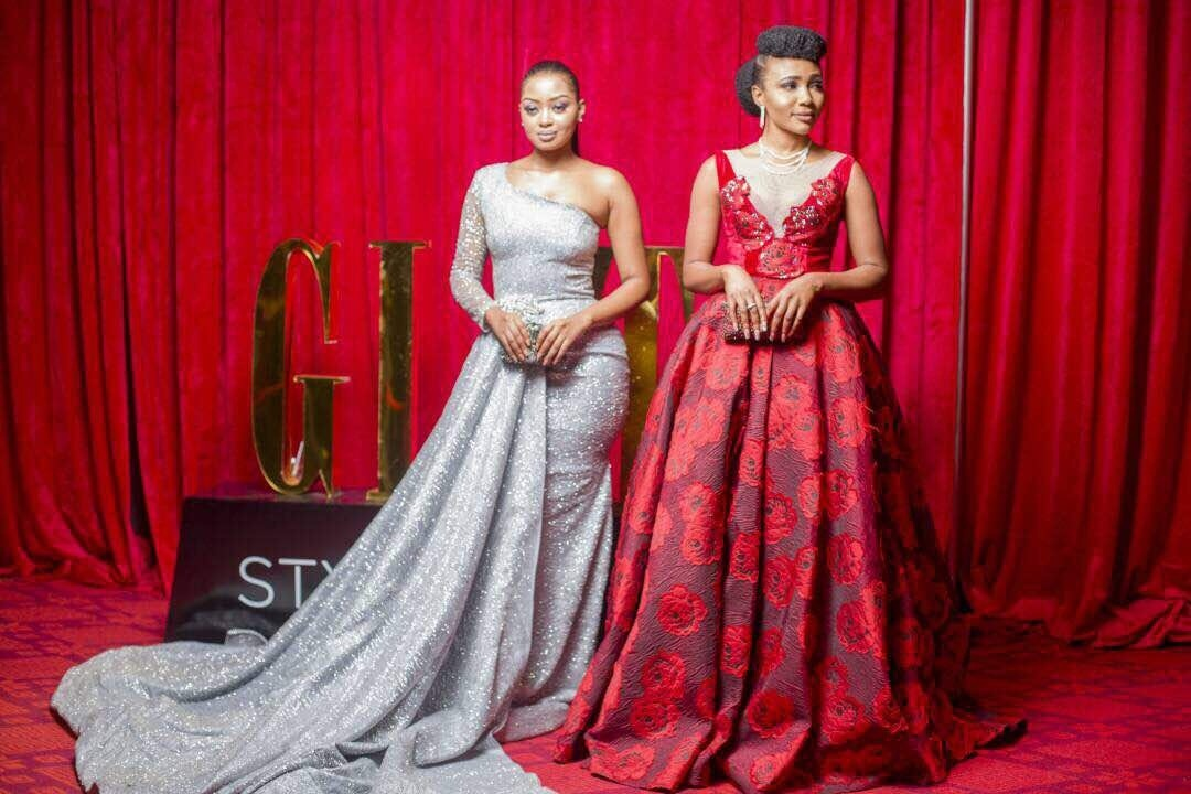 Syndy Emade's Glitz Style Awards Red Carpet Dress