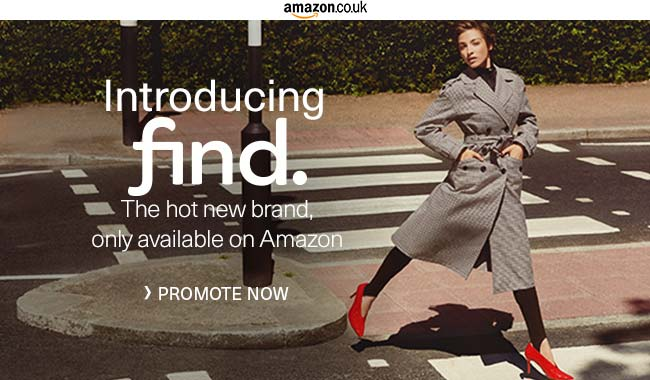 Amazon Quietly Debuts #FIND