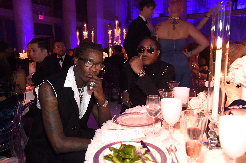 Celebrities At Rihanna's Third Annual Diamond Ball
