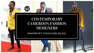 5 contemporary fashion designers from cameroon