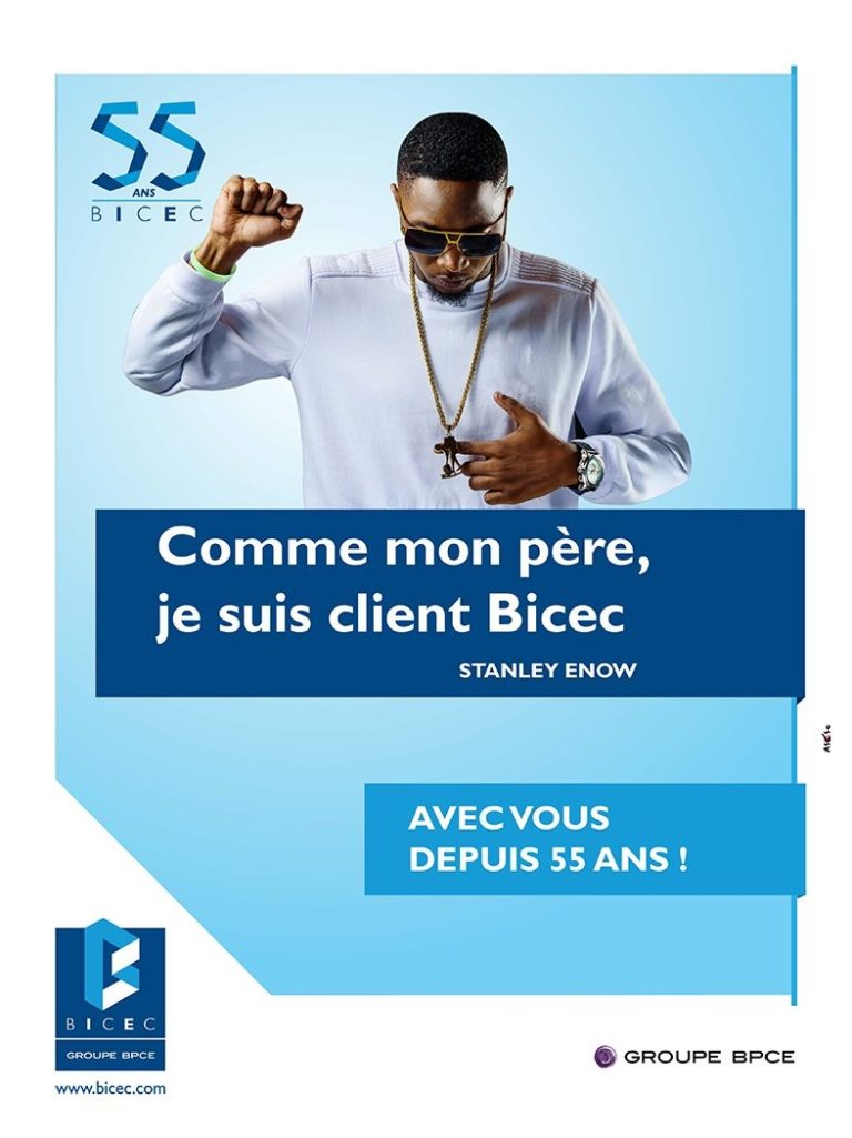 Stanley Enow Lands Endorsement Deal With Bicec Cameroon