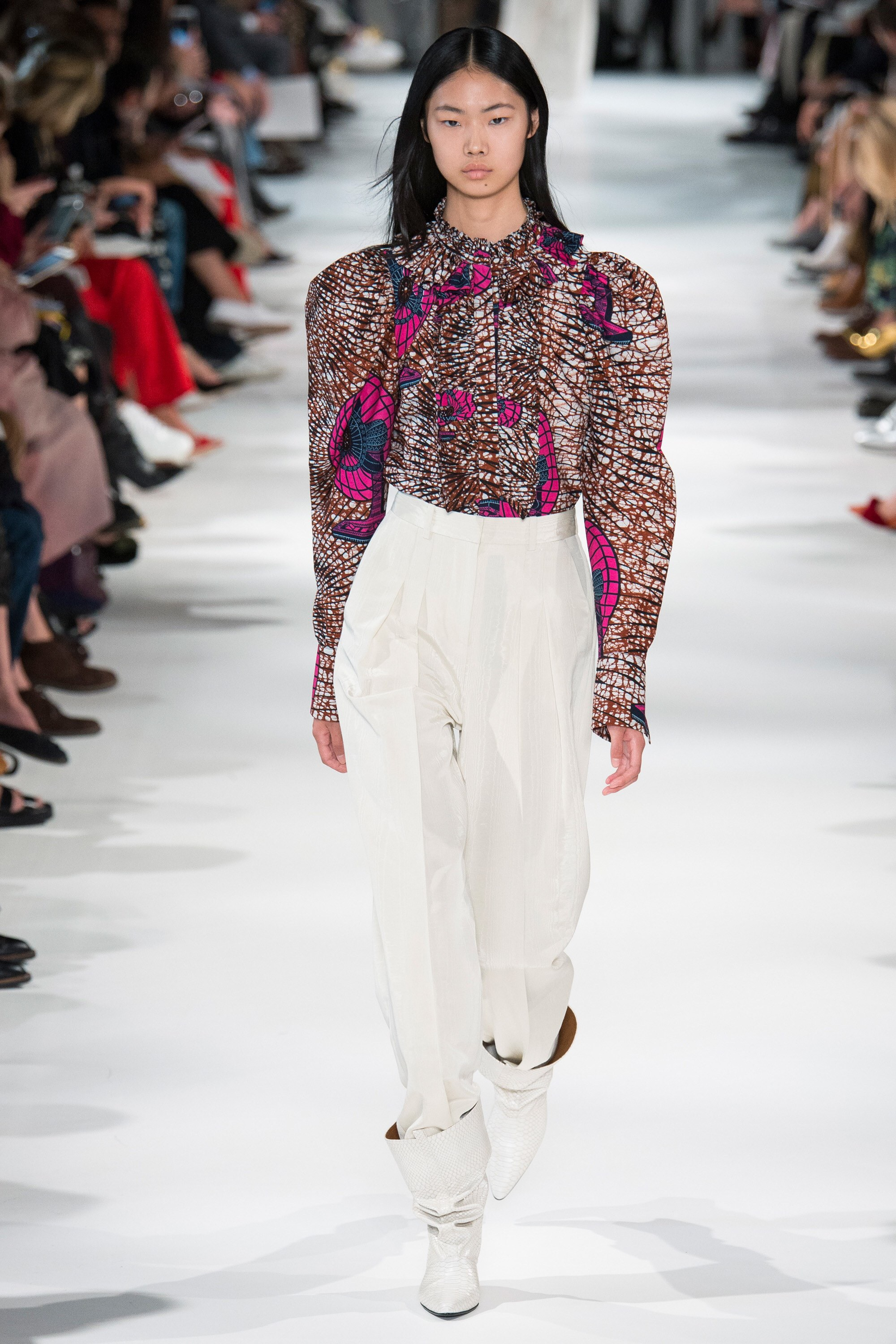 """""""FUNCTIONAL"""" African Print Spotted During Stella McCartney SS18 Collection"""