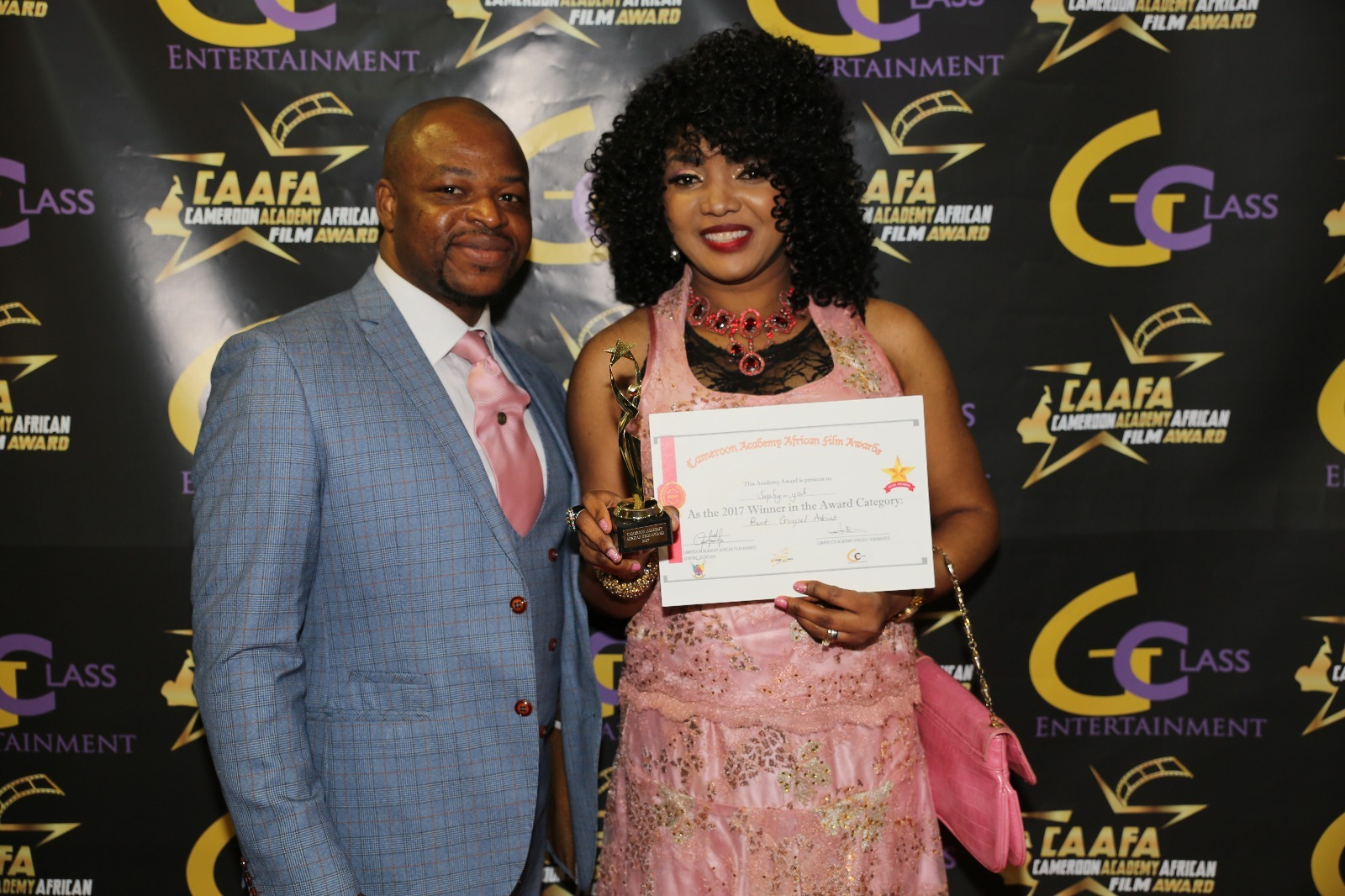 NOLLYWOOD STARS DOMINATES CAMEROON FILM AWARD
