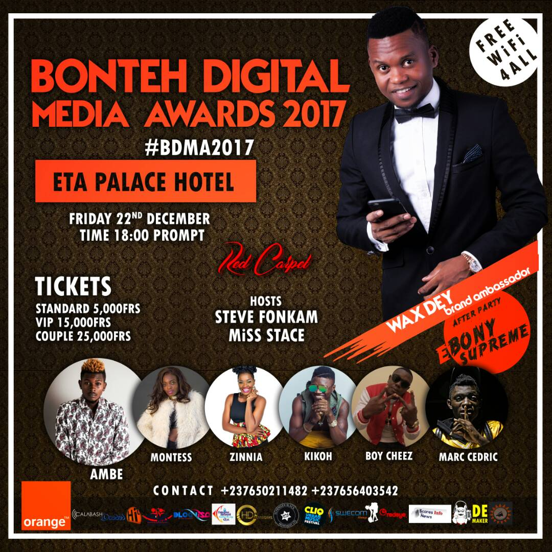 The Bonteh Digital Media Awards,DMA's 2017