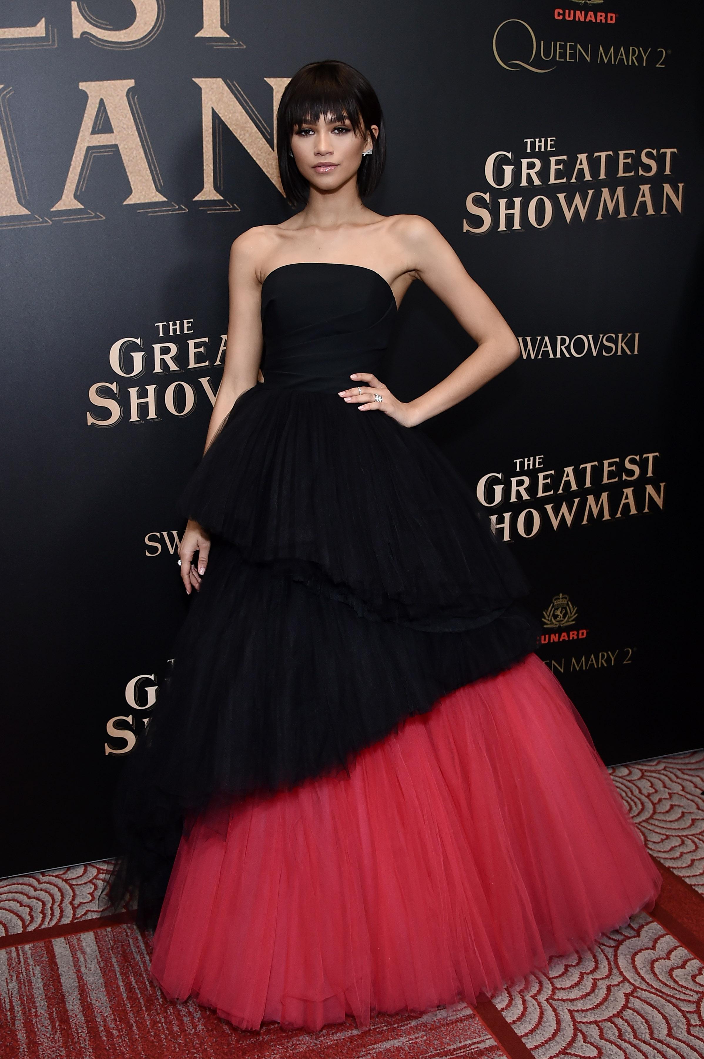 #Zendaya #TheGreatestShowman #EveningDresses Soiree Dress