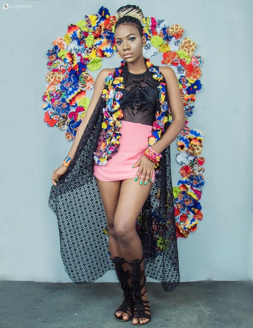 #AnyiAsonganyi #Oziinternational #Cameroon #FloralDesigns #FashionDresses