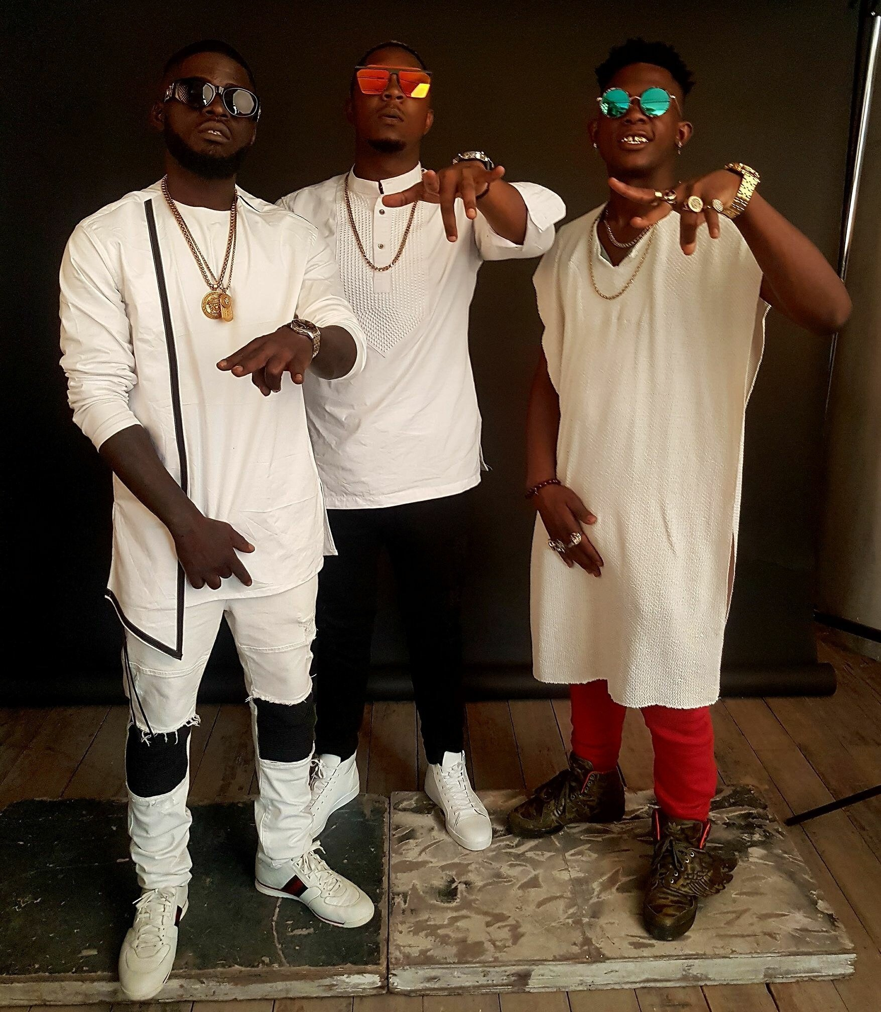 Nabil Fongod, Stanley Enow And Tenor Get Together To Fight Violence Against Women
