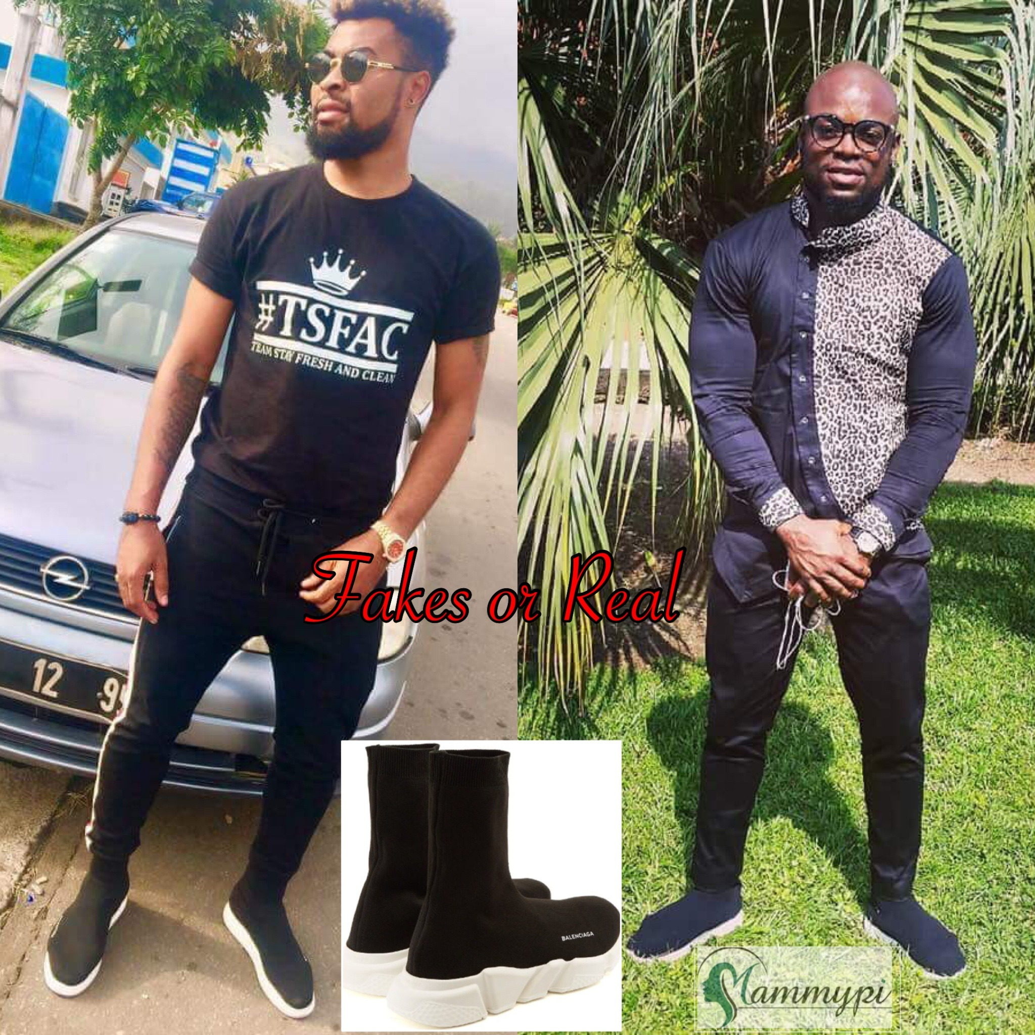 Buea Based Socialites Caught In Fake Balenciaga Shoe Scandal