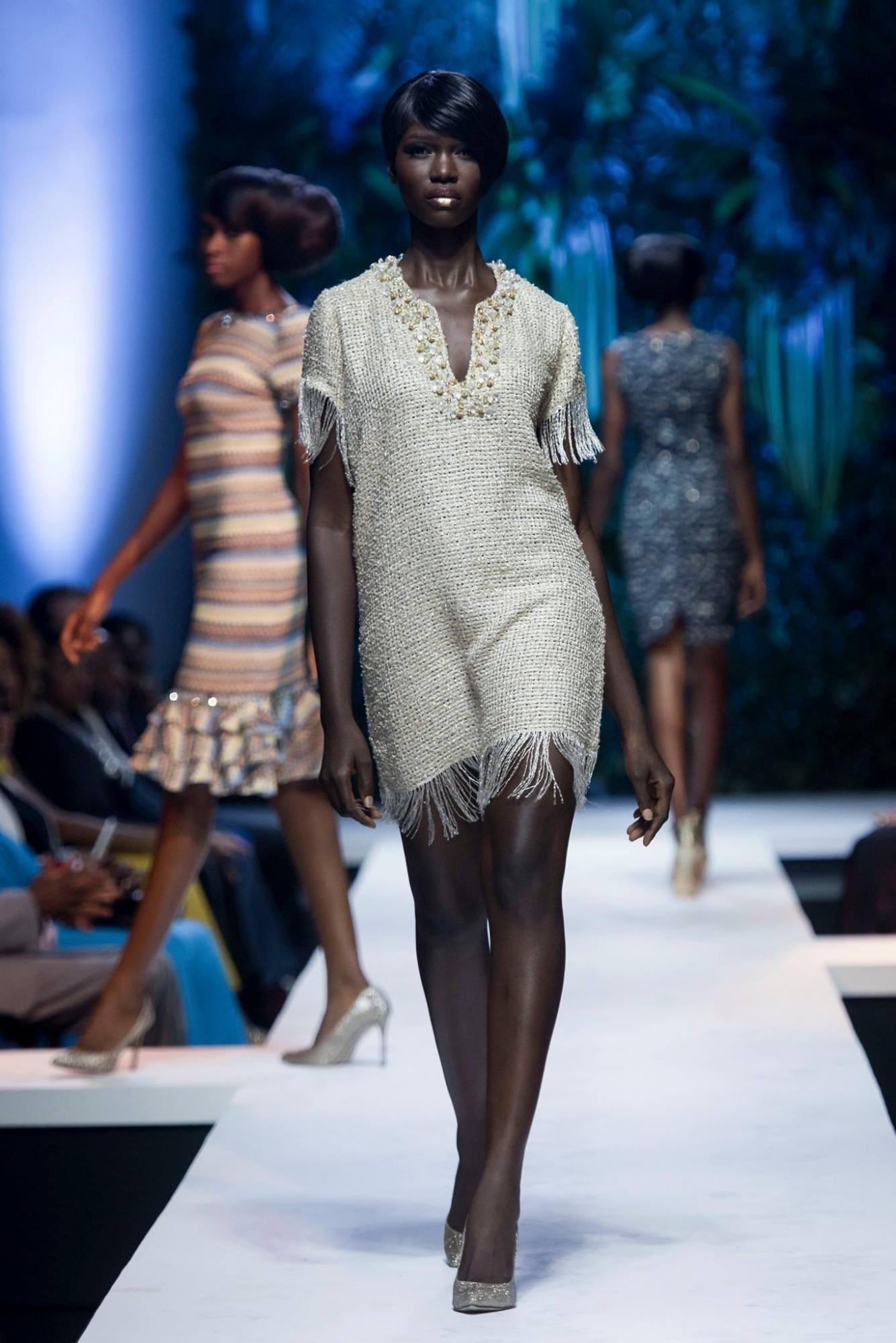 Cameroonian top model Marie Graobe