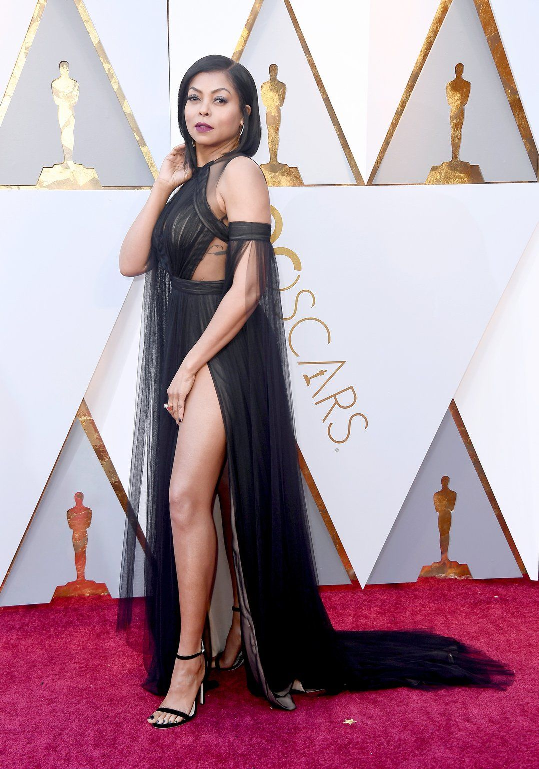 How Black Women In Hollywood Shut Down Oscars Red-Carpet 2018