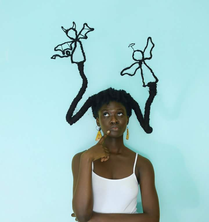 Laeti Ky natural hair sculptures #LaetiKy