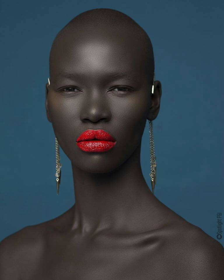 Meet The Glowing Black Cameroonian Top Model Marie Graobe Who Is Also Best Female Cameroonian Model 2017
