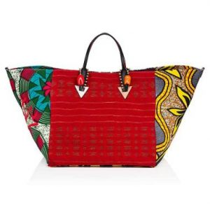 MEET AFRICABA THE STATEMENT BAG BY CHRISTIAN LOUBOUTIN and LA MAISON ROSE