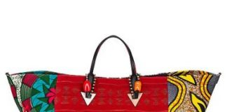 AFRICABA CHRISTIAN LOUBOUTIN tote bags