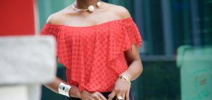 Top Off Your Summer Look with Cutting-Edge Off The Shoulder Top