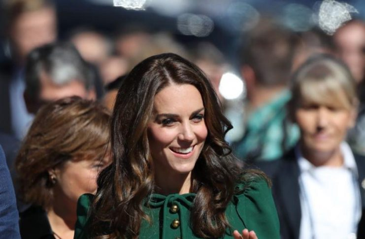 Kate Middleton In Green Dolce & Gabbana Dress