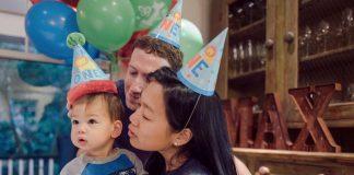 MARK ZUCKERBERGS DAUGHTER MAX TURNS ONE YEAR OLD