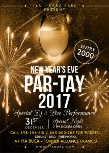 IYA BUEA IN COLLABORATION WITH FRIDA FARA OF FARA-FABS TO HOST THE GRANDEST END OF YEAR PARTY IN BUEA