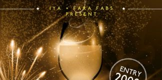 IYA BUEA AND FARA-FABS TO HOST EXCLUSIVE NEW YEAR PARTY