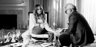 Giuseppe Zanotti and world-renowned superstar Jennifer Lopez are joining creative forces in an exclusive, new capsule footwear