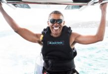 President Barack and Michelle Obama GoesTo British Virgin Islands