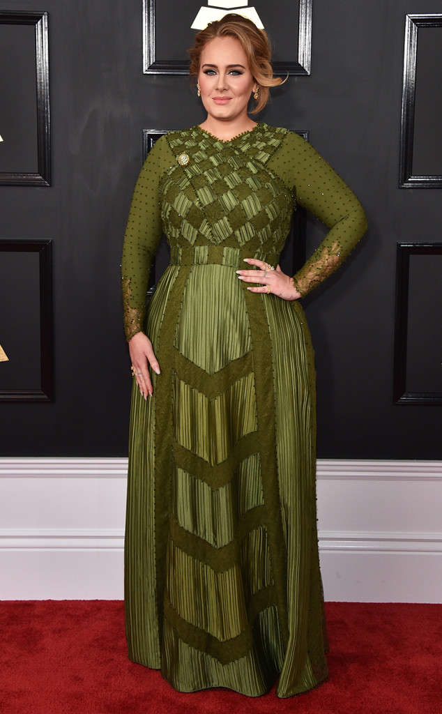 Adele 59th annual GRAMMY Awards