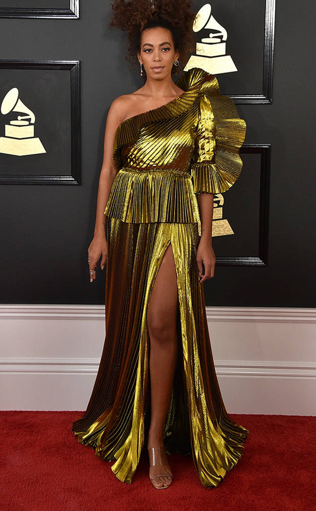 Solange Knowles 59th annual GRAMMY Awards