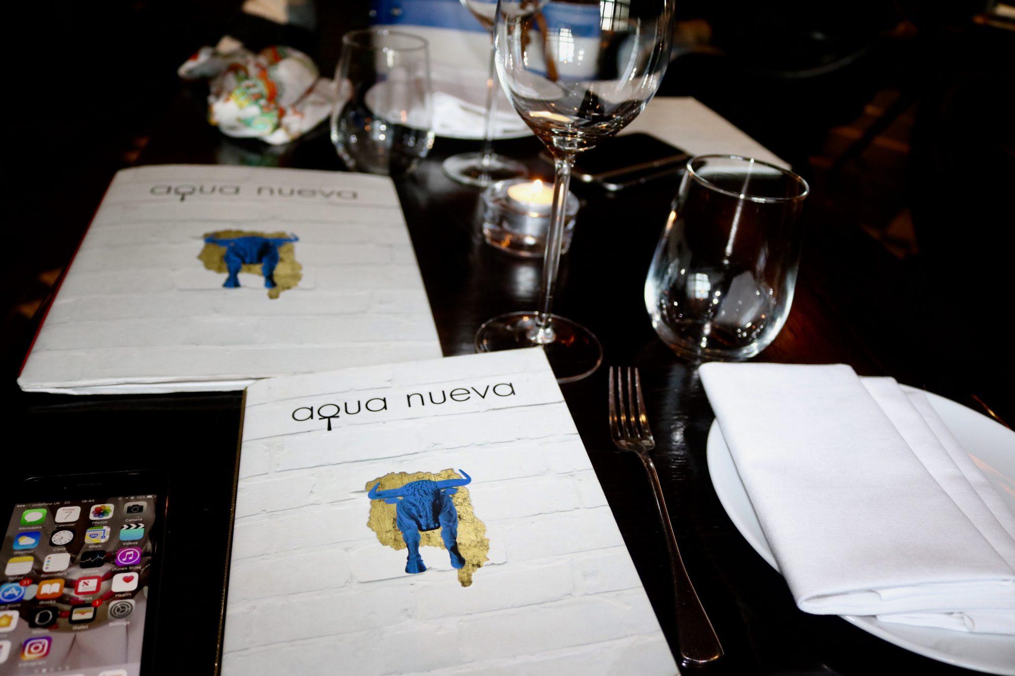 Cynthia Tabe Aqua Nueva London Restaurants
