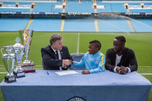 Everything You Need To Know About 8 Year-Old British Born Cameroonian Tristan Achu Making History in Manchester City