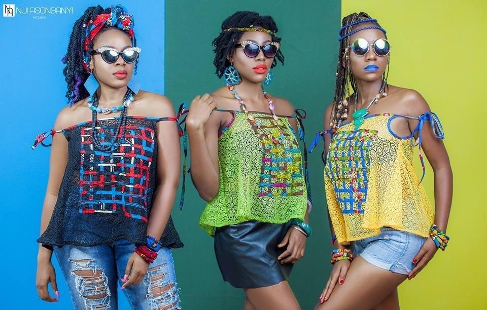 "Fashion Designer,Anyi Asonganyi, of OZI INTERNATIONAL Unveils ""Vibrant"" Collection"