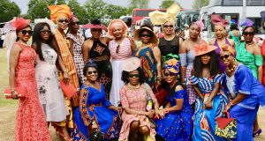All The Ankara Glamour at African Ladies Day Royal Ascot 2017