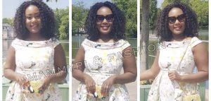 Jacinta Awasum Stuns in Wedding Guest Style